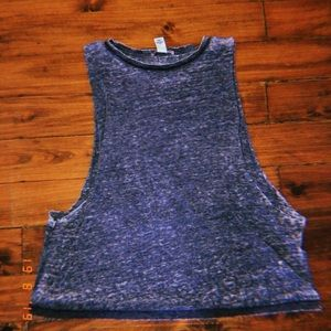gray forever 21 muscle tee